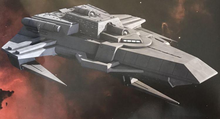 Husnock warship
