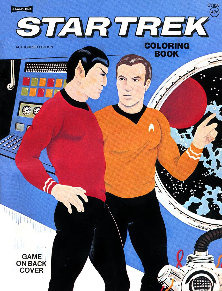 Coloring Book C1856 Memory Beta Non Canon Star Trek Wiki Fandom