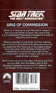 Sins of Commission back cover