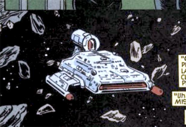 Catarr starship