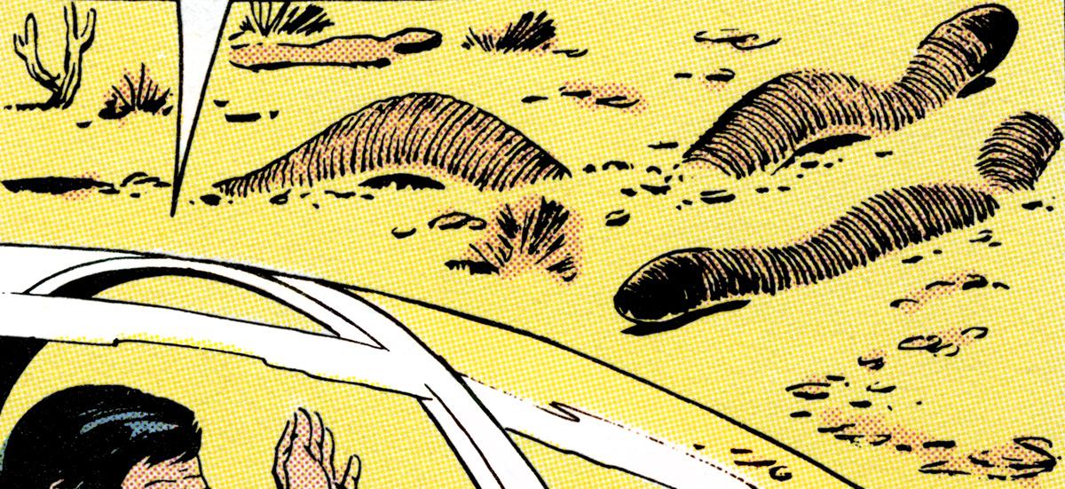 Aridian sandworm