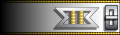 Commander uniform rank pin image