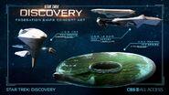Federation ships concept art CBS