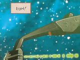 Klingon scout vessel