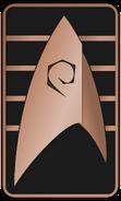Starfleet Ranks 2250s Operations Division - Cadet Senior