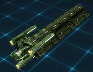 Valkis freighter