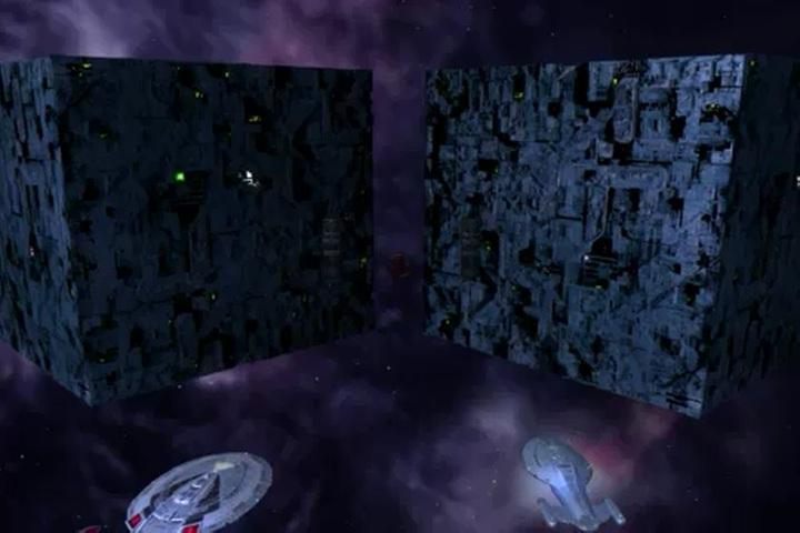 Unnamed Borg cubes