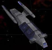 Federation cargo ship