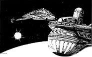 Klingons patrol the triangle