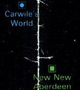 Carwile's world map