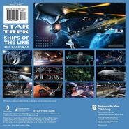 Ships of the Line 2011 back cover