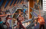 Klingons vs Federation & Bajorans on the Deep Space 9