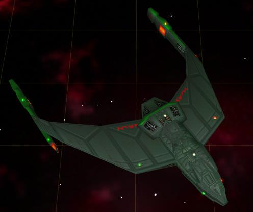 Klingon repair ship