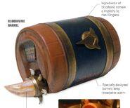 Bloodwine barrel