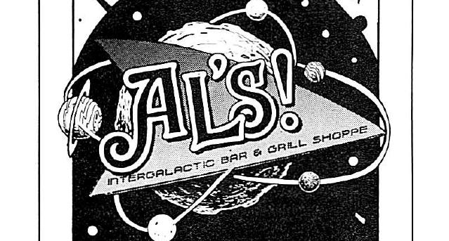 Al's Intergalactic Bar & Grill Shoppe