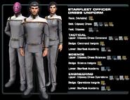 SF officer dress uniform