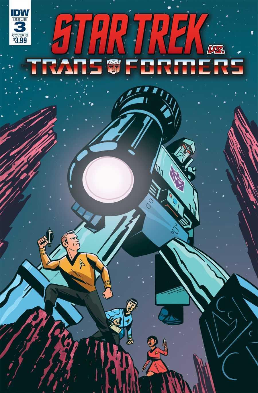 Star Trek vs. Transformers, Issue 3