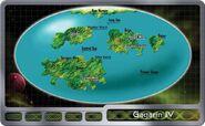Gagarin IV surface map