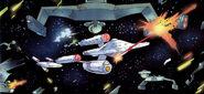 USS Federation vs Klingons