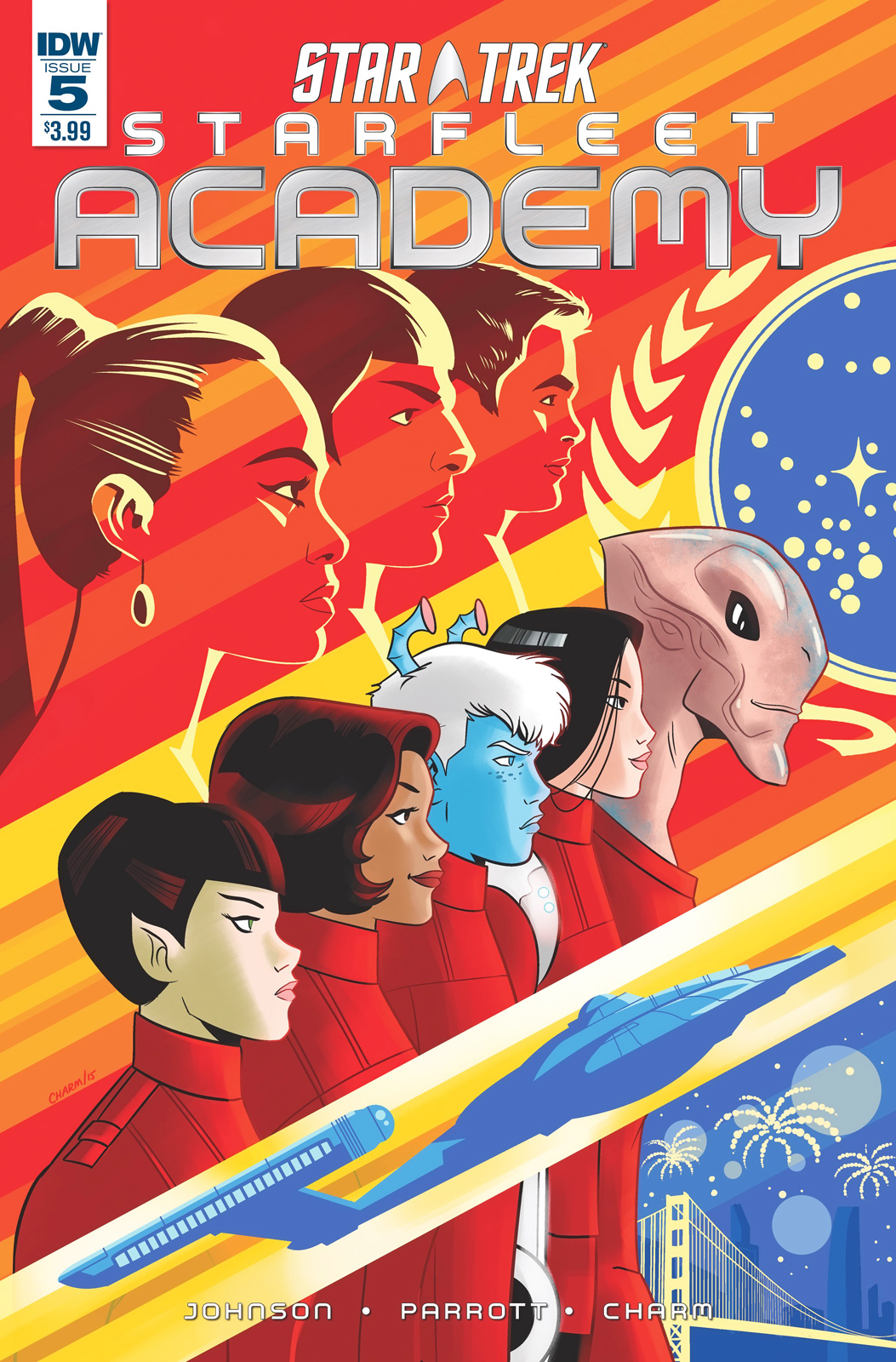 IDW Starfleet Academy, Issue 5