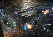 Mega Borg cube