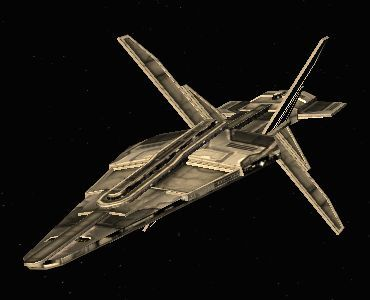 Acamarian frigate