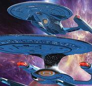 Enterprise-D and -E