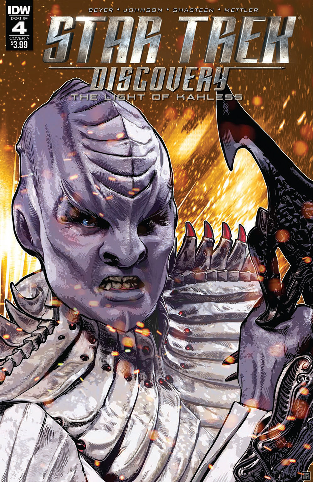 The Light of Kahless, Issue 4