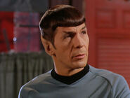 Spock as Frank McLowery