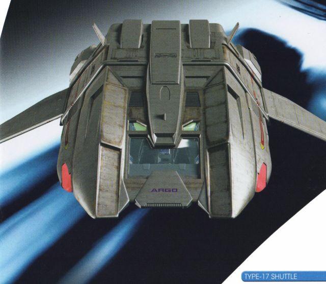 Type-17 shuttlecraft