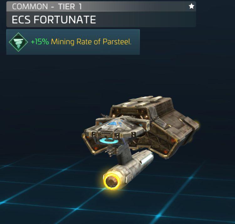 ECS Fortunate (Kelvin timeline)