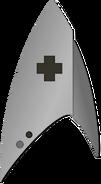 Starfleet Ranks 2250s Medical Division - Lieutenant Junior