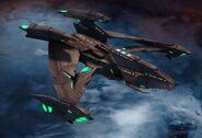 Hathos class Romulan Type 2 Brown