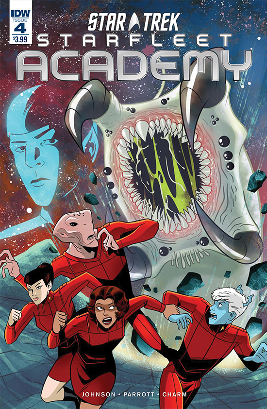 IDW Starfleet Academy, Issue 4