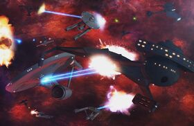 Klingon-Federation space battle.jpg