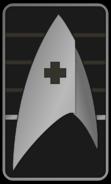 Starfleet Ranks 2250s Medical Division - Cadet Freshman
