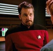 "Riker,""Captain"""