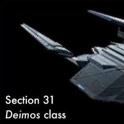 Deimos class (Section 31)