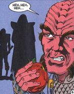 Kelvis apple DC Comics