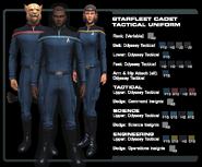 SF cadet tactical uniform