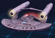 Newton-class battleship