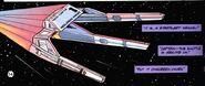 Warp shuttle Golden Hind NCC-10019-1