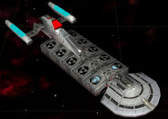 Federation mining freighter