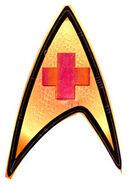 Enterprise med insignia