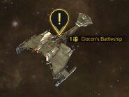 Glocon's battleship