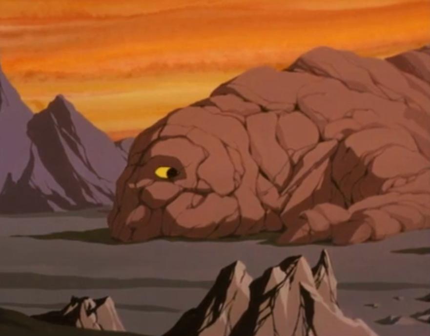 Rock creature