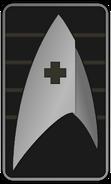 Starfleet Ranks 2250s Medical Division - Cadet