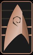Starfleet Ranks 2250s Operations Division - Cadet Sophomore