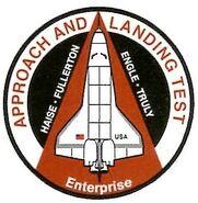 Shuttle Enterprise patch