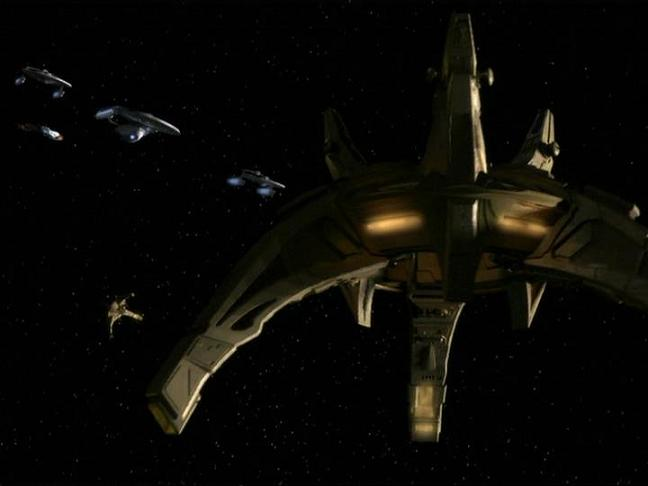 Cardassian orbital weapon platform